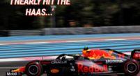 Afbeelding: Perez crasht bijna tijdens vrije training: ''I nearly hit the Haas''