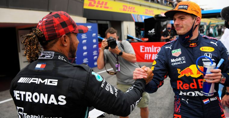 Provisional grid French GP: Verstappen starts ahead of Hamilton