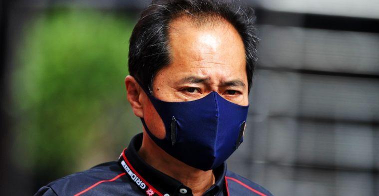 Honda: Het belangrijkste voor hem is dat hij de race uitrijdt