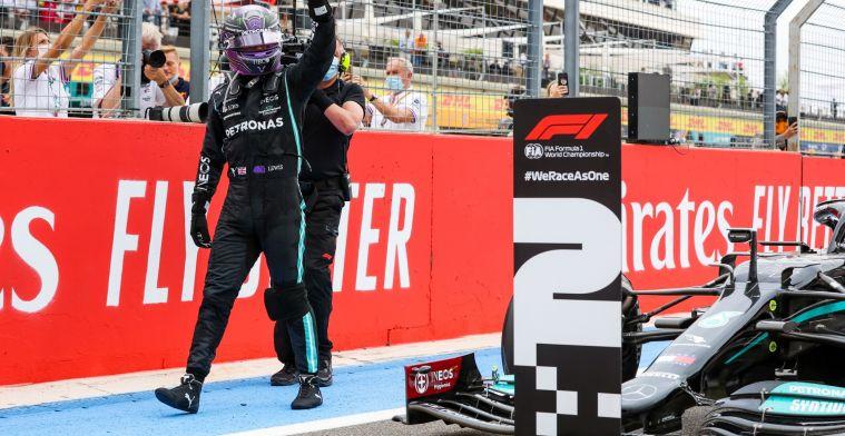 Hamilton overtuigd van winst: 'Dan hadden we de race gewonnen'