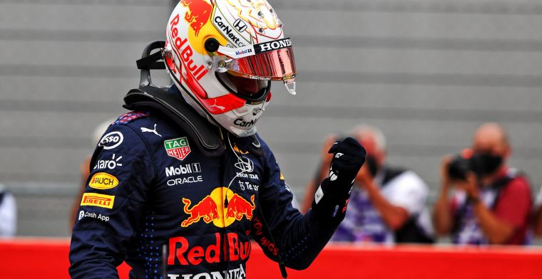Verstappen explains pole lap: I think that's where the lap time comes from