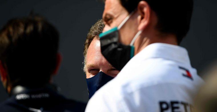 Horner en Wolff naast Rosberg: Probeer je ons te naaien?