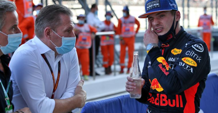 Jos Verstappen about final phase of race: Luckily they didn't use it.
