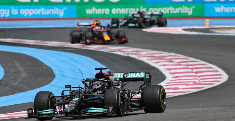 Mercedes was afraid of Verstappen: 'That was our best option at the time'