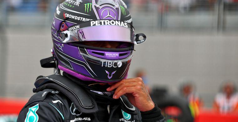 Hamilton vestigt hoop in verbeterde Mercedes: 'Zullen genoeg kansen krijgen'