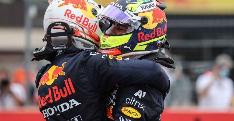 Perez zet druk op Mercedes: 'Dan hadden we twee stops met één auto gedaan'