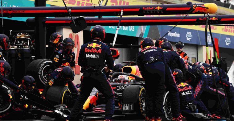 Red Bull blijft domineren in de Formule 1 met pitstops