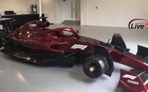 Gelekte beelden van F1 2022-wagen tonen futuristische voor- en achtervleugel
