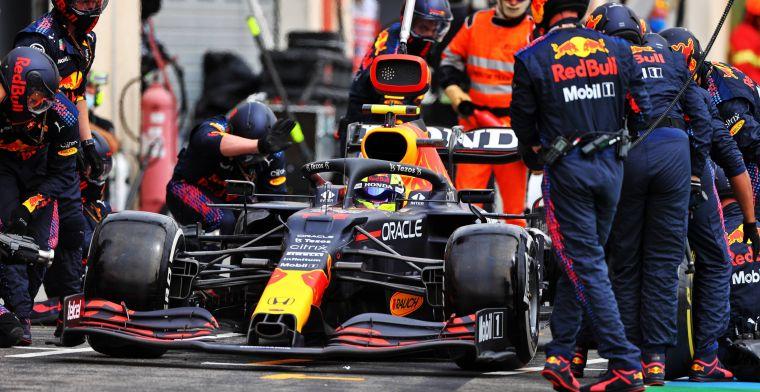 Verklaart dit die geweldige outlap van Verstappen? 'De Red Bull is hier beter in'