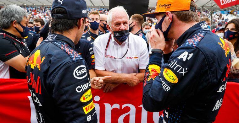 Perez van cruciaal belang bij Red Bull: 'Mercedes tast hierdoor in het duister'