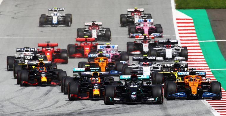 Hoogtepunten Grand Prix van Steiermark: Laat Verstappen zich dit opnieuw gebeuren?