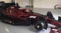 Afbeelding: Gelekte beelden van F1 2022-wagen tonen futuristische voor- en achtervleugel