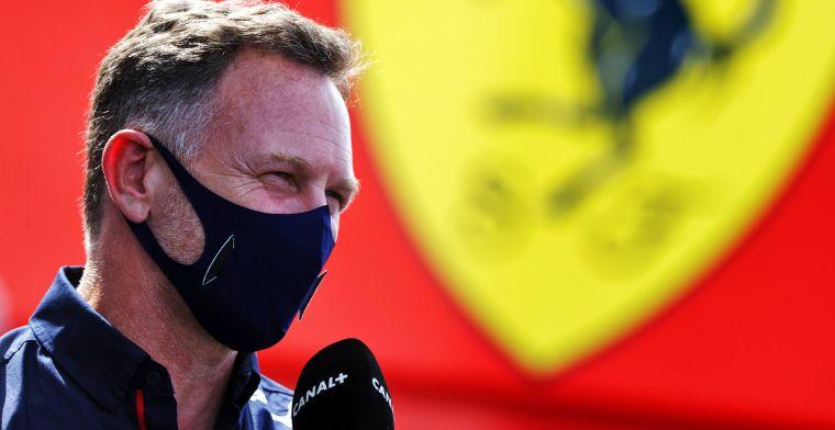 Horner waakzaam voor Mercedes: ''Kwestie van tijd voordat ze terugslaan''