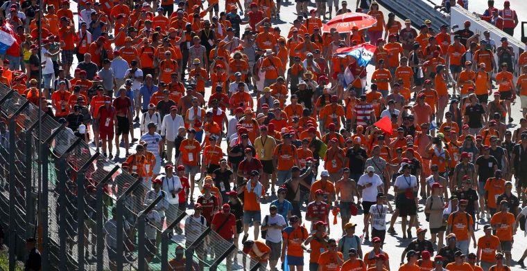 Weer een zee van Oranjefans voor Verstappen: '140.000 toeschouwers in Oostenrijk'