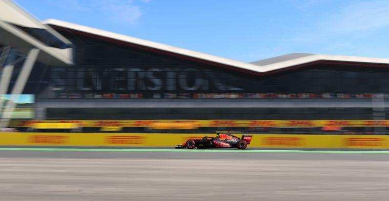 Groot aantal bezoekers toegestaan bij Grand Prix van Groot-Brittannië