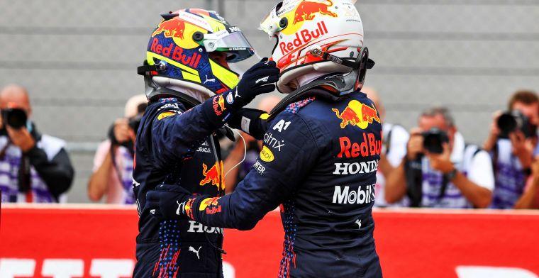 Perez is de ideale man voor Red Bull: 'Verpest strategische opties'