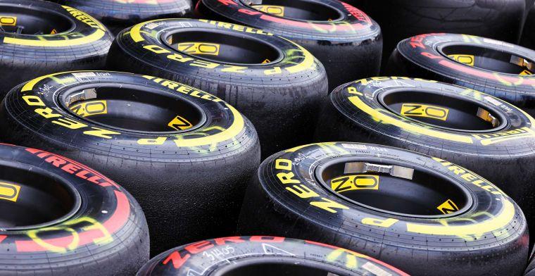 Pirelli gaat nieuwe achterbanden testen die 'meer aan zouden kunnen'