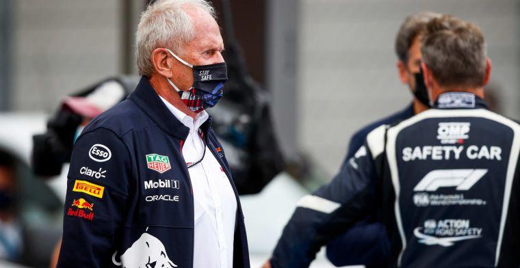 Marko enjoys 'smart' Hamilton: 'Bottas drove on the dirty part'