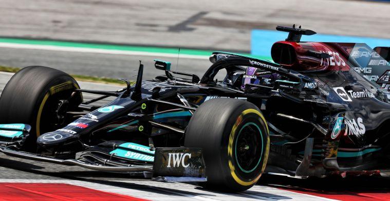 'Hij zal wanhopig zijn om in het Mercedes-zitje te komen'