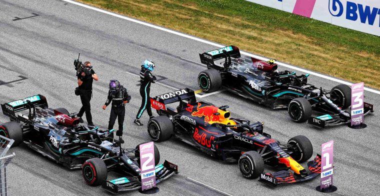 Mercedes underestimate degradation: 'We tried to push Verstappen'