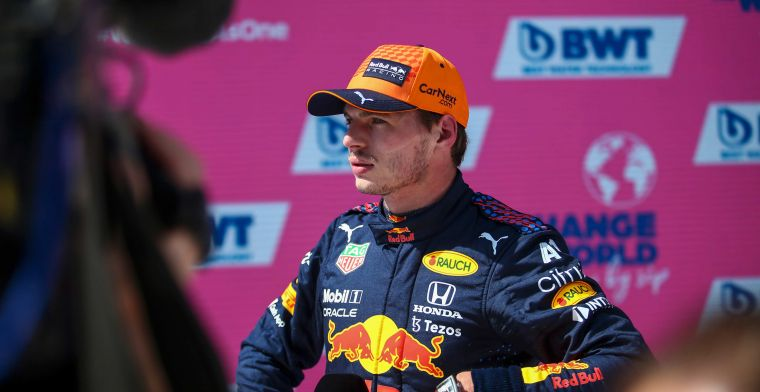 Verstappen relieved after victory: 'Everyone sees you as a favourite'