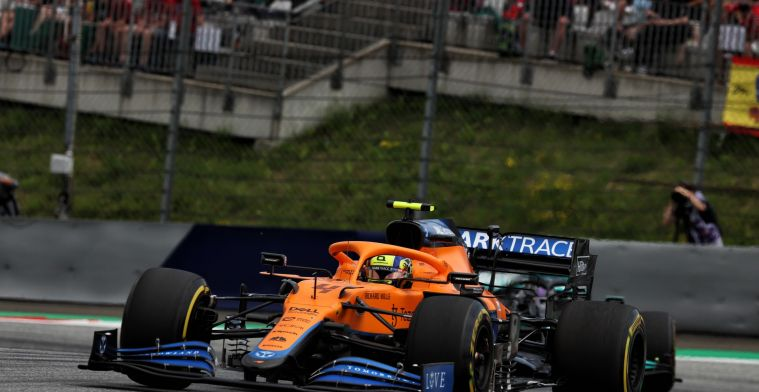 Support for Norris: 'You drive them off the fricking race track'
