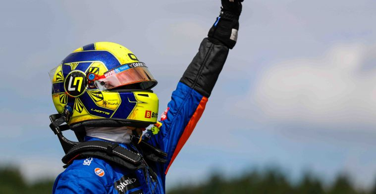 Norris over bijzondere ervaring: 'Voor het eerst dat ik tegen hem racete'