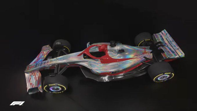This is the new car that will be introduced in F1 in 2022