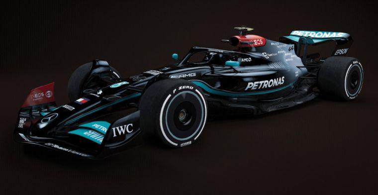 F1 aan de slag met 2022 auto: zo zien de auto's eruit met de liveries van 2021