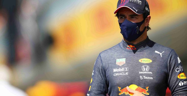 Red Bull confirms Perez will start from pit lane at Silverstone