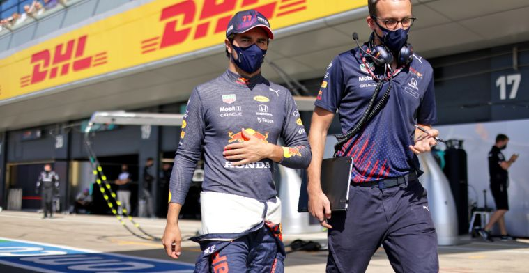 Perez not happy with himself: 'I can only say sorry'