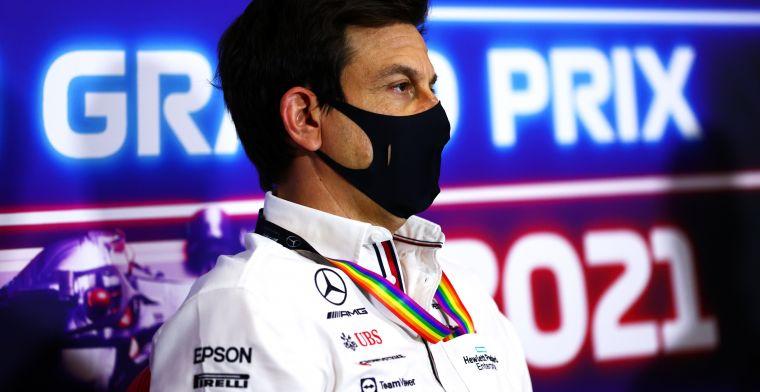 Wolff: 'Formule 1 moet de sprintrace beperken tot vier of vijf races'
