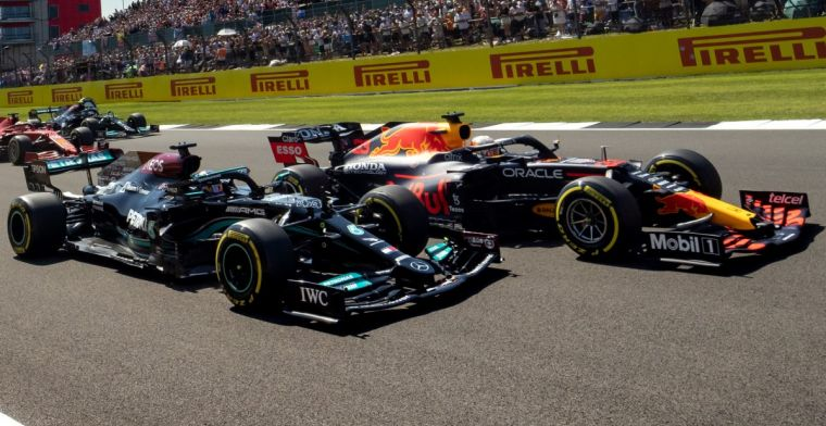 World Championship: Hamilton and Mercedes make the most of the collision