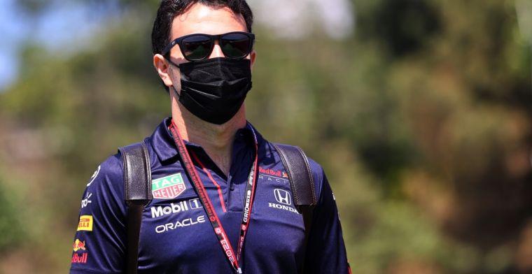 Perez also blames Hamilton: 'It was over the limit'