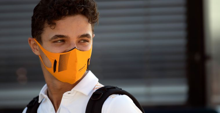 Lando Norris on fourth-place finish: 'I can't be not satisfied'