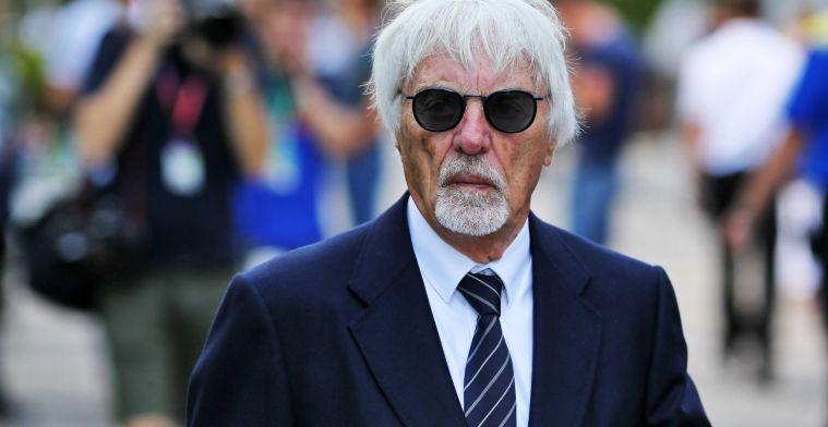 Ecclestone haalt uit naar de stewards: 'Die straf was niet terecht'