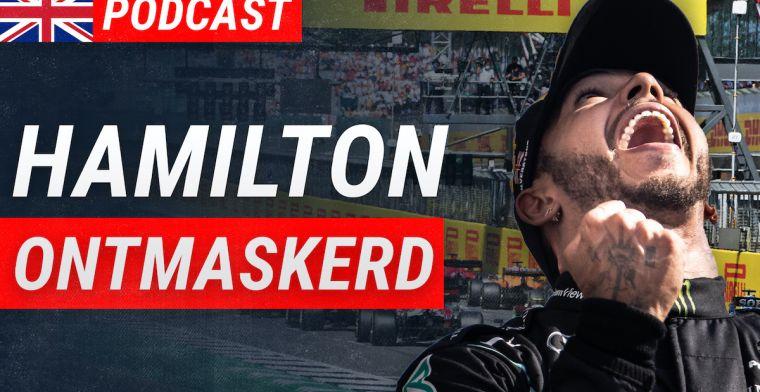 Is dit de ontmaskering van de fatsoensrakker Lewis Hamilton?   Podcast