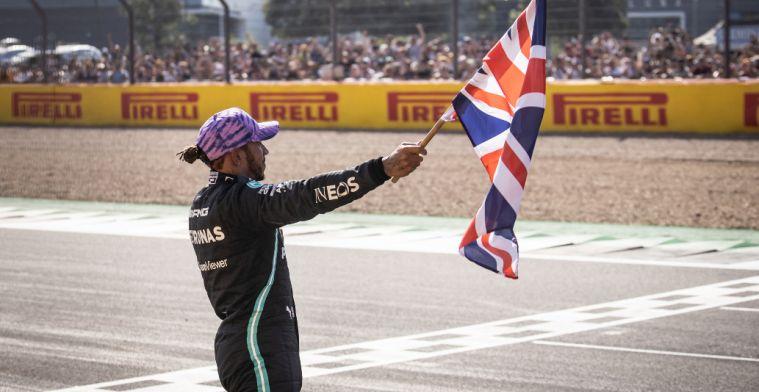 'Psychologisch gezien moet de actie van Hamilton impact hebben op Verstappen'