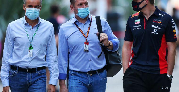 Jos Verstappen denies tirade against Wolff