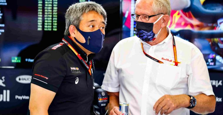 Honda boss on Verstappen crash: 'I think it was a racing incident'