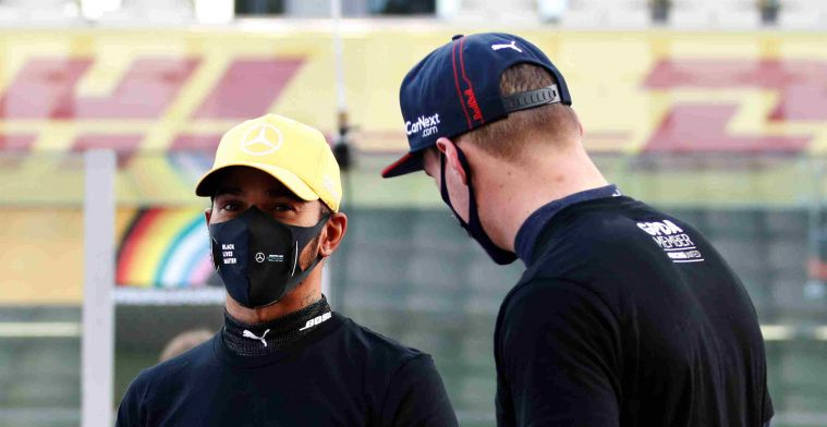 F2 driver annoyed with social media after clash Verstappen and Hamilton