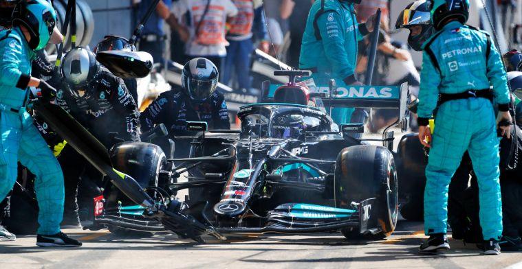 Mercedes ziet updates als reden voor zege: Terrein gewonnen op Red Bull