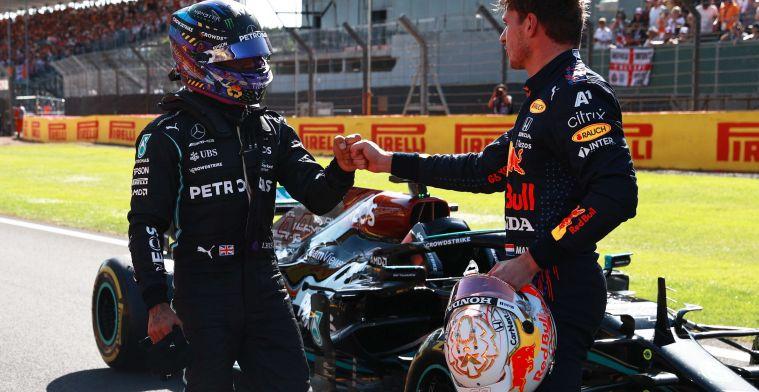 Hamilton in de stress door Verstappen: ''Hij raakt serieus in de war''