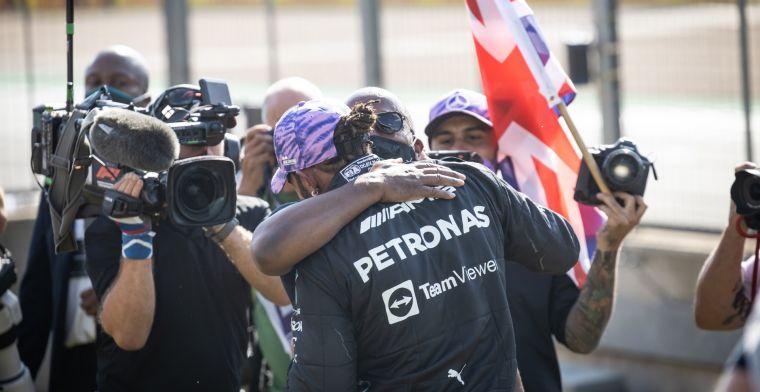 'Bij ons hoorde Hamilton voor het eerst dat Verstappen in ziekenhuis was'