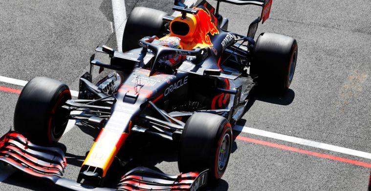 'Toen Verstappen niet kon reageren op de teamradio, stond de tijd stil'