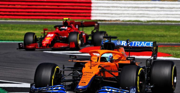 Ricciardo suffers allergic reaction during Silverstone race