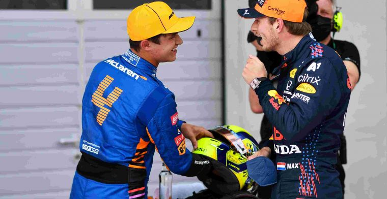 Norris can't fight Verstappen yet: That's hard to swallow