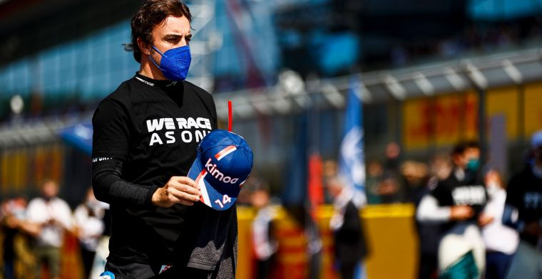 Alonso sees competition cheat: 'Apparently this is now allowed'