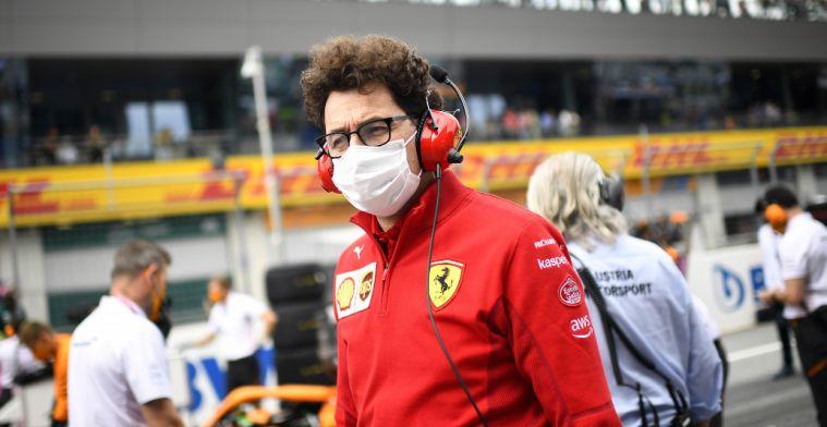 Binotto sees Ferrari improve: 'Already 17 points more than last year'
