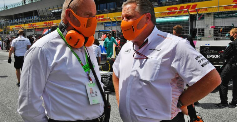 Zak Brown will race in the GT4 Series at Spa-Francorchamps
